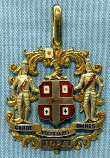 Past Master's Badge, Makers of Playing Cards' Company