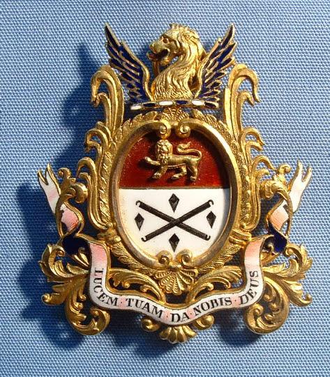 Past Master's Badge, Glaziers' Company