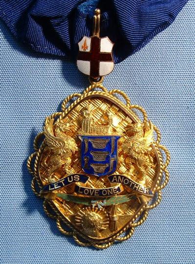 Past Prime Warden's Badge, Basketmakers' Company