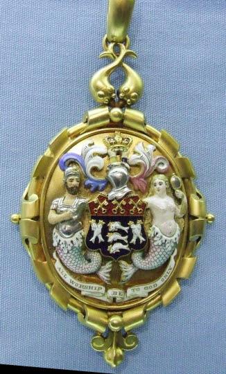 Past Prime Warden's Badge, Fishmongers' Company