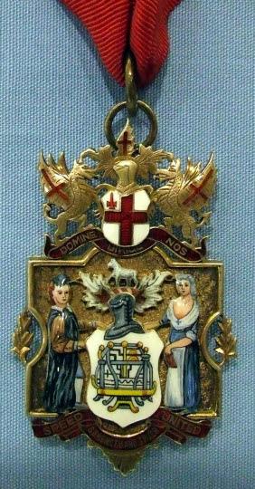 Past Master's Badge, Framework Knitters' Company
