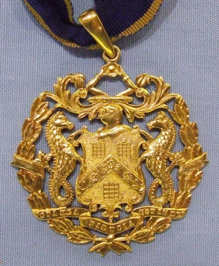Past Master's Badge, Pewterers' Company