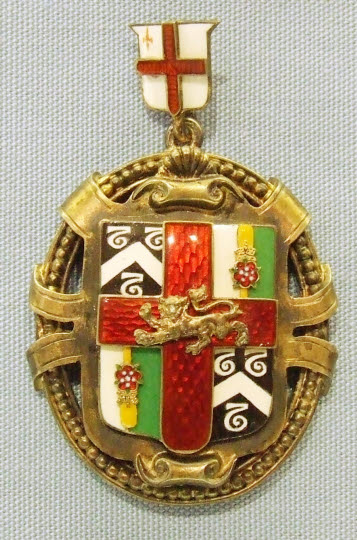 Past Master's Badge, Barbers' Company