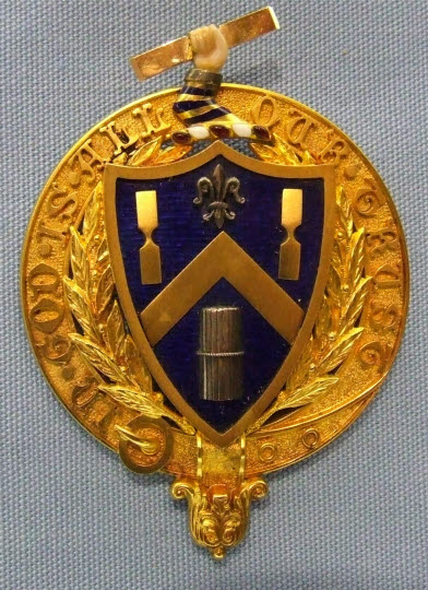 Past Master's Badge, Tylers and Bricklayers' Company