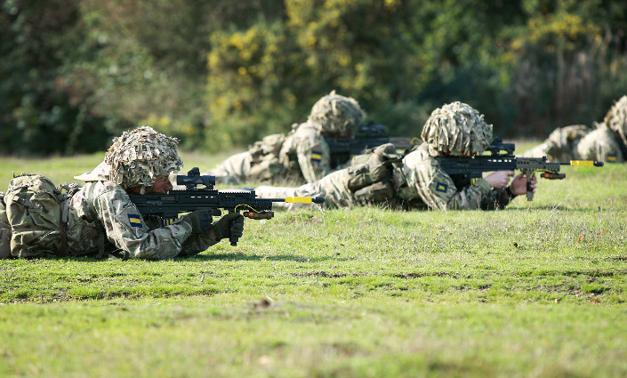Section attack by members of 3PWRR