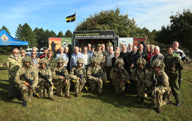 The Livery Companies with members of 3PWRR