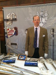 The IPM with some of the Pooley sword exhibit