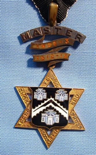Past Master's Badge, Masons' Company