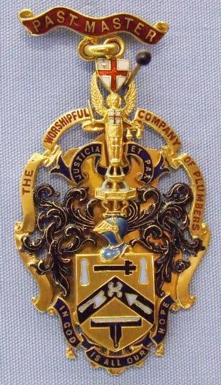 Past Master's Badge, Plumbers' Company